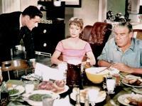 THE MATING GAME, Tony Randall, Debbie Reynolds, Paul Douglas, 1959