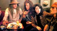 LONDON KILLS ME, Brad Dourif (in hat), Emer McCourt (in leopardskin), 1991, (c) Fine Line Features