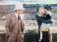LITTLE MISS MARKER, from left: Tony Curtis, Julie Andrews, Sara Stimson, 1980, © Universal