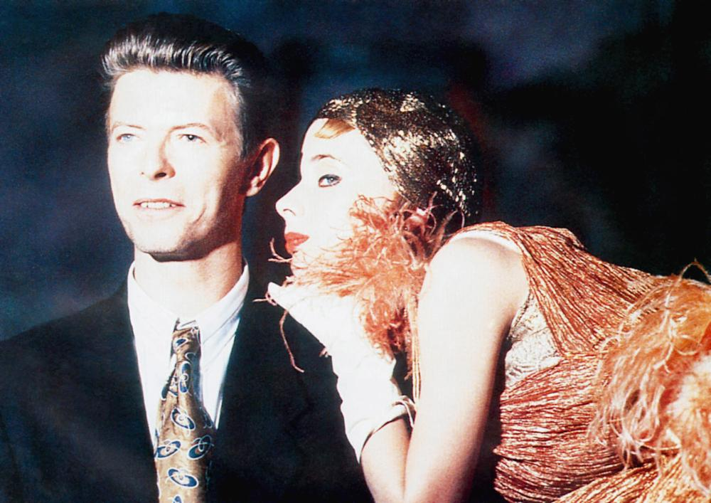 THE LINGUINI INCIDENT, from left: David Bowie, Rosanna Arquette, 1991, © Academy Entertainment