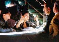 THE LINGUINI INCIDENT, from left: Michael Bonnabel, Eszter Balint, Andre Gregory, 1991, © Academy Entertainment