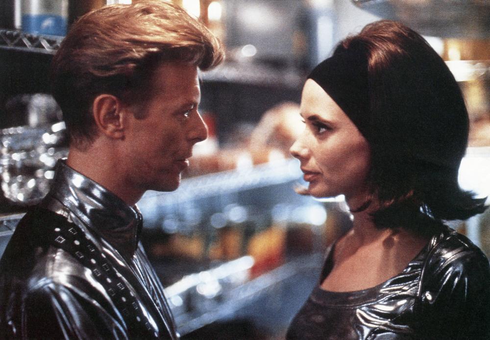 THE LINGUINI INCIDENT, from left: David Bowie, Rosanna Arquette, 1991. © Academy Entertainment