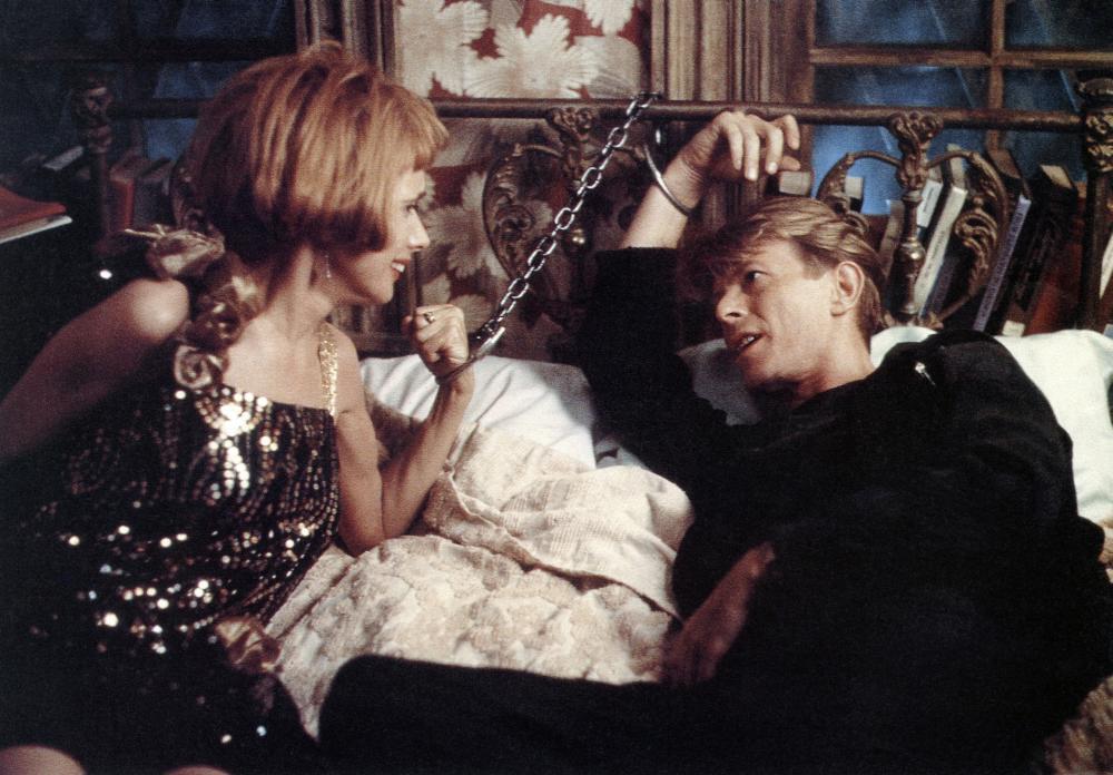 THE LINGUINI INCIDENT, from left: Rosanna Arquette, David Bowie, 1991. © Academy Entertainment