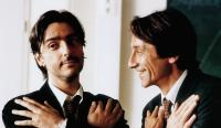 LE PROF, from left: Yvan Attal, Jean-Hugues Anglade, 2000, © Rezo Films