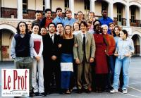 LE PROF, front from third from left: Yvan Attal, Helene de Fougerolles, Jean-Hugues Anglade, 2000, © Rezo Films