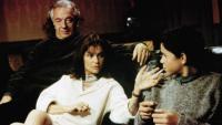 LA CEREMONIE, from left: Jean-Pierre Cassel, Jacqueline Bisset, Valentin Merlet, 1995, © New Yorker