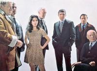 THE KREMLIN LETTER, Richard Boone, Barbara Parkins, George Sanders, Patrick O'Neal, Raf Vallone, Dean Jagger, 1970