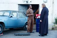 CALVARY, from left: Isaach De Bankole, Brendan Gleeson, 2014. TM and Copyright ©Fox Searchlight. All rights reserved.
