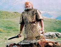 KING DAVID, Edward Woodward, 1985. ©Paramount Pictures
