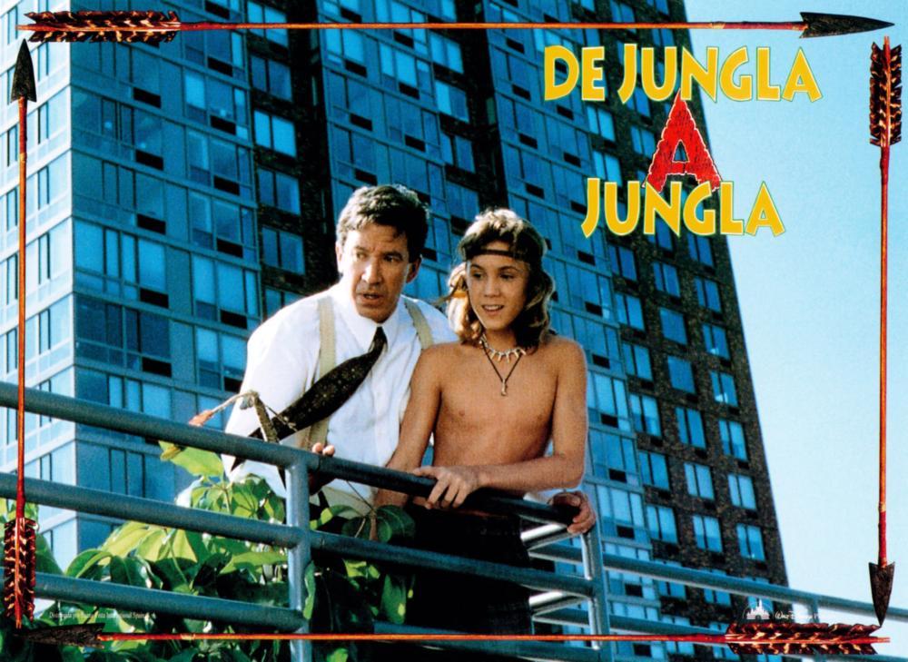 JUNGLE 2 JUNGLE, (aka DE JUNGLA A JUNGLA), from left: Tim Allen, Sam Huntington, 1997, © Buena Vista