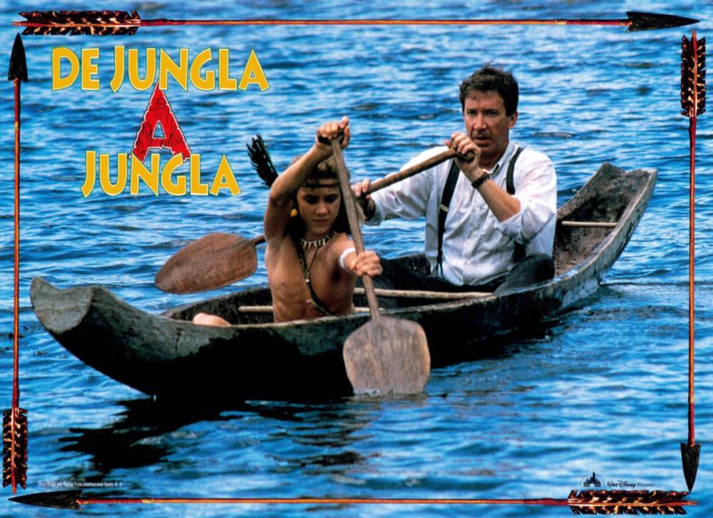 JUNGLE 2 JUNGLE, (aka DE JUNGLA A JUNGLA), from left: Sam Huntington, Tim Allen, 1997, © Buena Vista