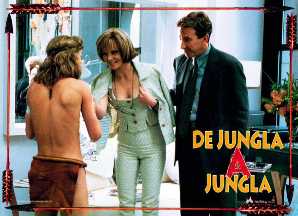 JUNGLE 2 JUNGLE, (aka DE JUNGLA A JUNGLA), from left: Sam Huntington, Lolita Davidovich, Tim Allen, 1997, © Buena Vista