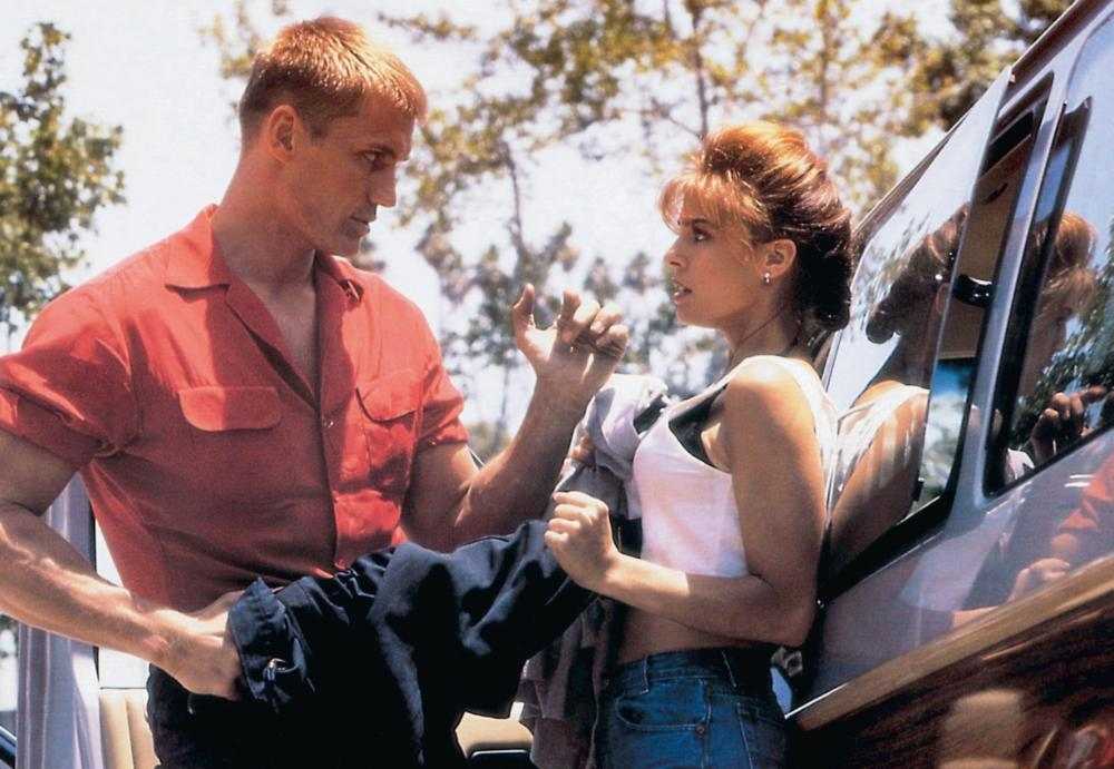 JOSHUA TREE, (aka ARMY OF ONE), from left: Dolph Lundgren, Kristian Alfonso, 1993, © Vision International