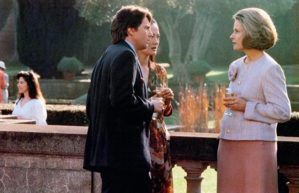 THE JOY LUCK CLUB, from left: Andrew McCarthy, Rosalind Chao, Diane Baker, 1993, © Buena Vista