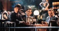 THE INNOCENT, from left: Hart bochner, Campbell Scott, Anthony Hopkins, 1993, © Miramax
