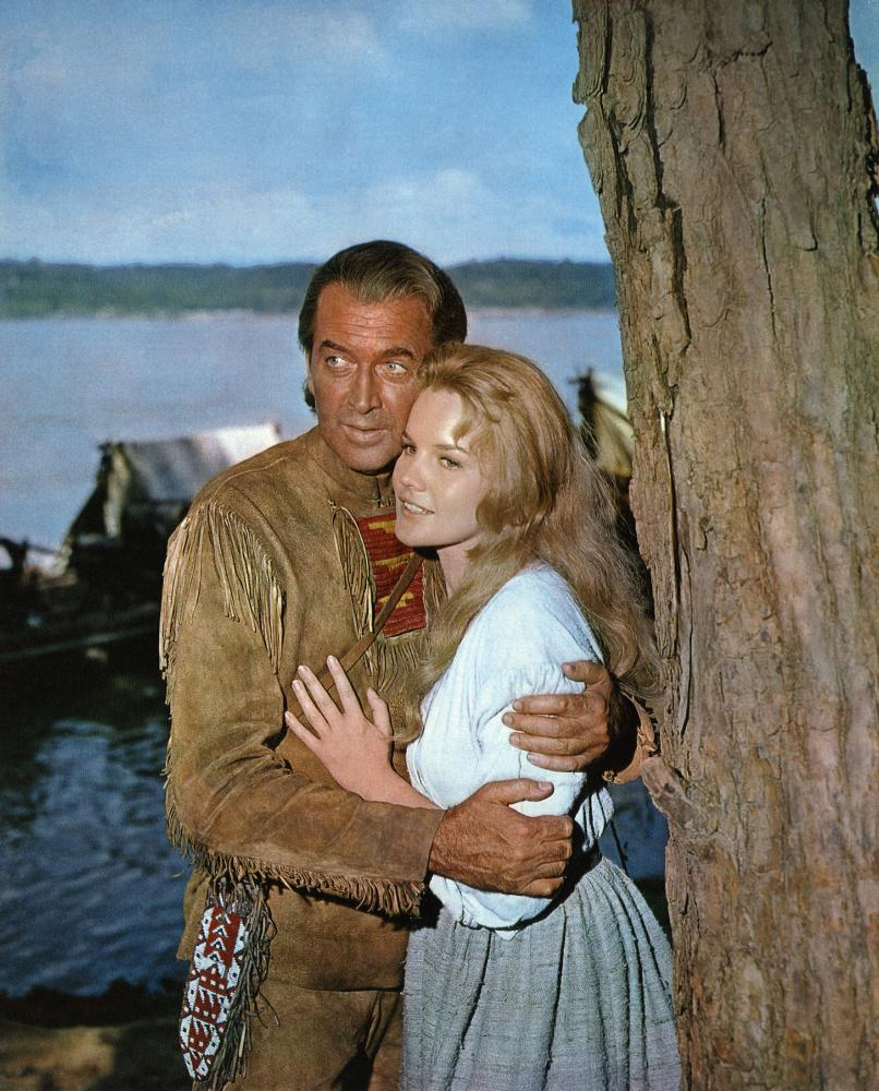 HOW THE WEST WAS WON, James Stewart, Carroll Baker, 1962
