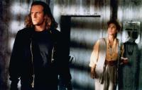 HIGHLANDER II: THE QUICKENING, from left: Christopher Lambert, Virginia Madsen, 1991, © Interstar