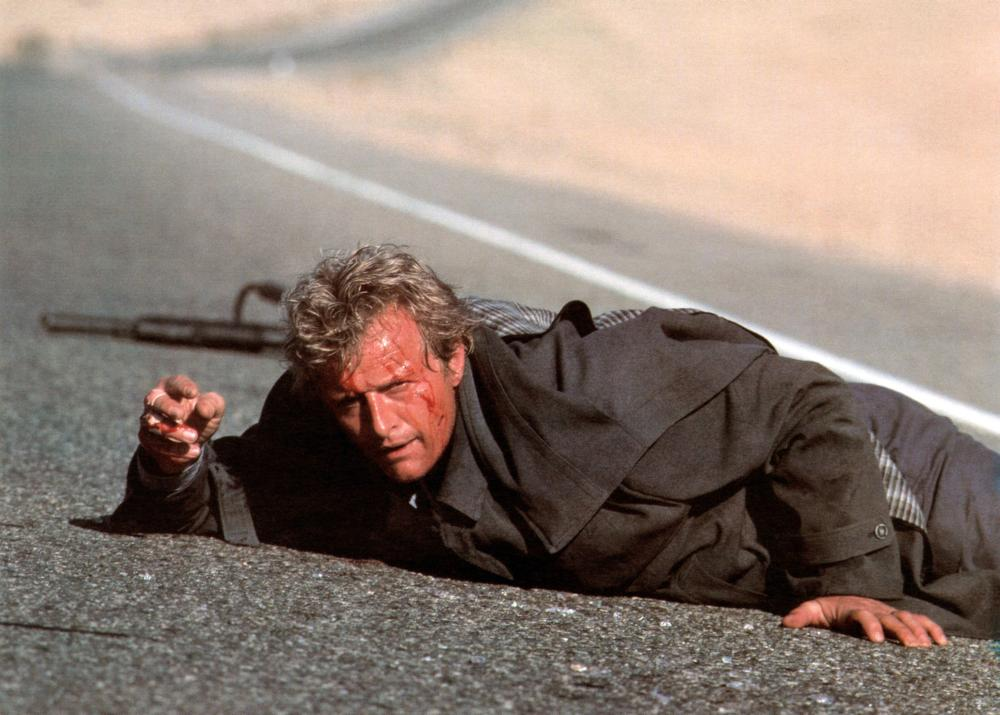 THE HITCHER, Rutger Hauer, 1986. ©TriStar Pictures