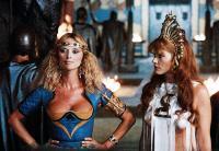 HERCULES, Sybil Danning (left), 1983. ©Cannon Films