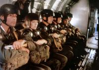HELL CAMP, (aka OPPOSING FORCE), Lisa Eichhorn (2nd left), 1986. ©Orion Pictures