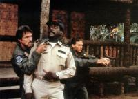 HELL CAMP, (aka OPPOSING FORCE), Tom Skerritt (left), Richard Roundtree (center),  1986. ©Orion Pictures