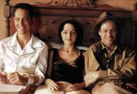 HENRY AND JUNE, from left: Richard E. Grant, Maria de Medeiros, Fred Ward, 1990. ©Universal Pictures