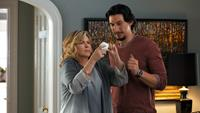 THIS IS WHERE I LEAVE YOU, from left: Debra Monk, Adam Driver, 2014./©Warner Bros. Pictures