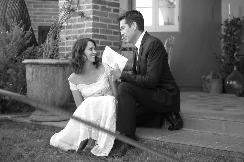 MUCH ADO ABOUT NOTHING, from left: Amy Acker, Alexis Denisof, 2012. ©Lionsgate