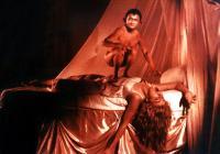 GOTHIC, Kiran Shah (top), Natasha Richardson, 1986. ©Veston Pictures