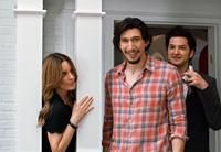 THIS IS WHERE I LEAVE YOU, from left: Tina Fey, Adam Driver, Ben Schwartz, 2014. ©Warner Bros.