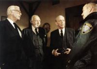 GHOST STORY, Douglas Fairbanks Jr., John Houseman, Fred Astaire, Brad Sullivan, 1981, (c) Universal