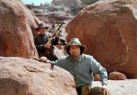 GERONIMO: AN AMERICAN LEGEND, front to back: Jason Patric, Robert Duvall,  1993. ©Columbia Pictures