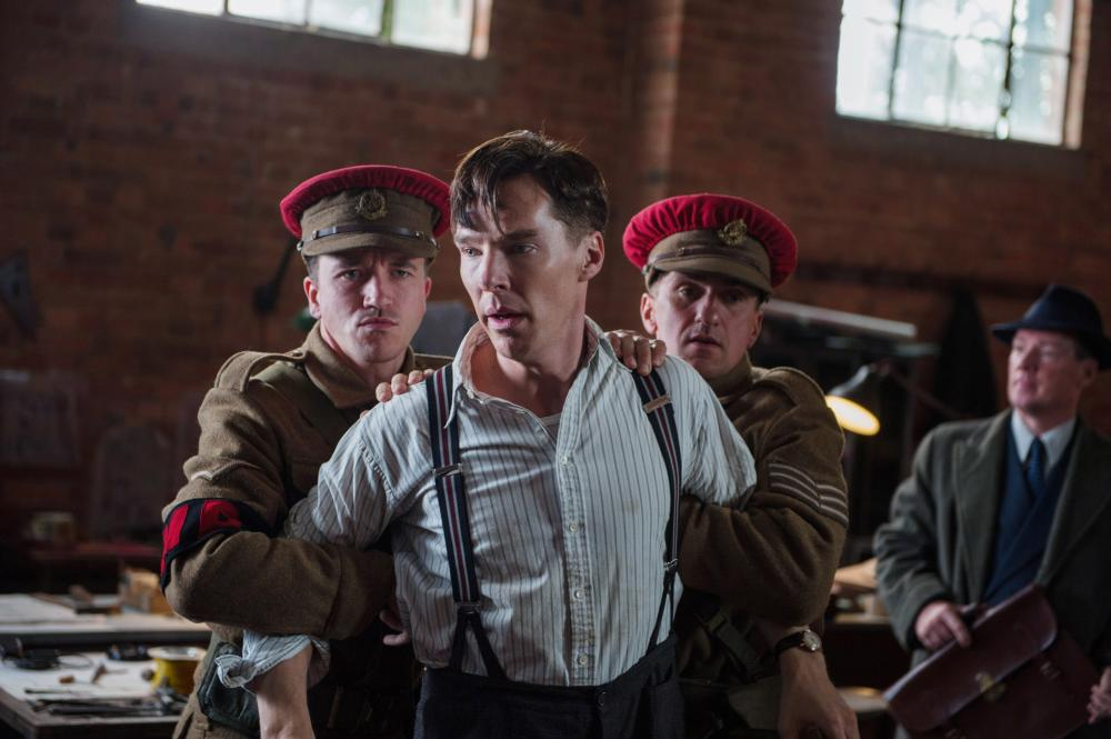 THE IMITATION GAME, Benedict Cumberbatch as Alan Turing (second from left), 2014. ph: Jack English/© Weinstein Company