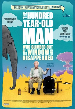 The 100-Year Old Man Who Climbed Out The Window And Disappeared (Swedish w/e.s.t.)