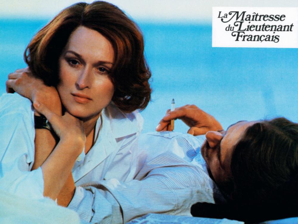 THE FRENCH LIEUTENANT'S WOMAN, (aka LA MAITRESSE DU LIETENANT FRANCAIS), from left: Meryl Streep, Jeremy Irons, 1981, © United Artists