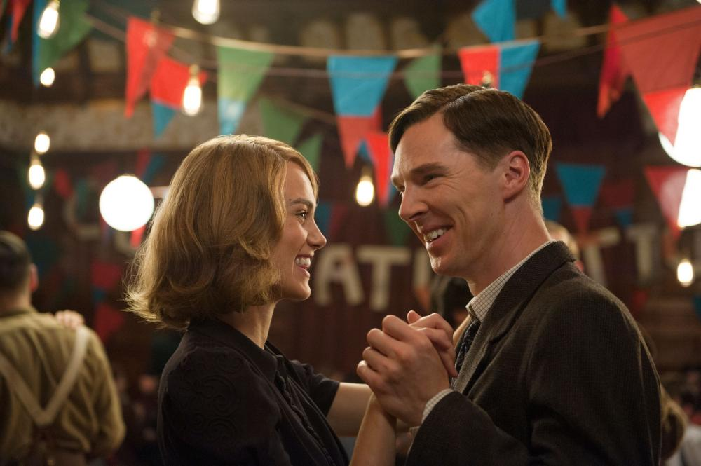 THE IMITATION GAME, from left: Keira Knightley, Benedict Cumberbatch as Alan Turing, 2014. ph: Jack English/©Weinstein Company