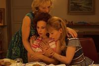 A LA VIE, from left: Johanna ter Steege, Suzanne Clement, Julie Depardieu, 2014. ©Le Pacte