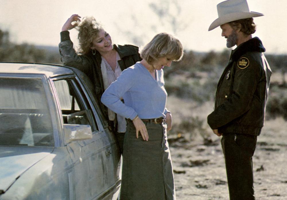 FLASHPOINT, Jean Smart, Tess Harper, Kris Kristofferson, 1984, (c) TriStar