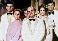 FIRST FAMILY, Richard Benjamin, Madeline Kahn, Austin Pendleton, Bob Newhart, Gilda Radner, Fred Willard, 1980, (c) Warner Brothers