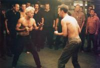 FIGHT CLUB, from left, Jared Leto, Edward Norton, 1999, TM & © 20th Century Fox Film Corp.