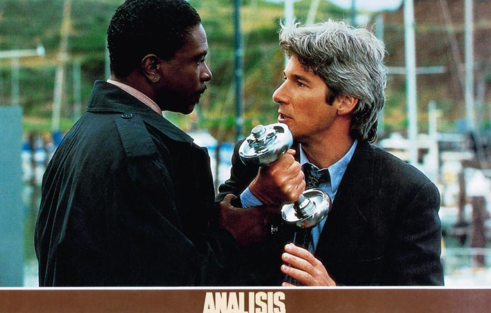 FINAL ANALYSIS, from left: Keith David, Richard Gere, 1992, © Warner Brothers