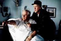 FAR NORTH, from left: Charles Durning, Donald Moffat, 1988. ©Alive Films