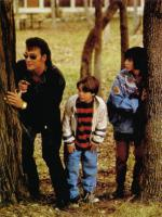 FATHER HOOD, from left: Patrick Swayze, Brian Bonsall, Sabrina Lloyd, 1993, © Buena Vista