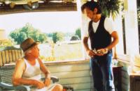 FALLING FROM GRACE, from left: Dub Taylor, John Mellencamp, 1992, © Columbia