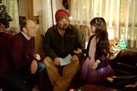 JINGLE ALL THE WAY, Brian Stepanek (left), Larry the Cable Guy (center), 2014. TM and ©copyright Fox. All rights reserved.