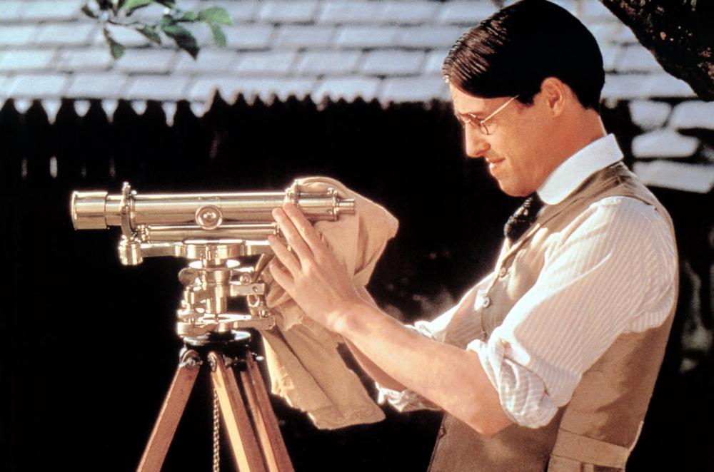 THE ENGLISHMAN WHO WENT UP A HILL BUT CAME DOWN A MOUNTAIN, Hugh Grant, 1995. ©Miramax