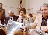 ENDANGERED SPECIES, Paul Dooley, Joseph G. Medalis, JoBeth Williams, Hoyt Axton, 1982, (c) MGM