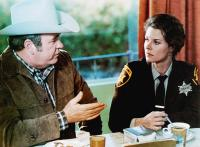 ENDANGERED SPECIES, from left: Hoyt Axton, JoBeth Williams, 1982, © MGM