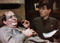 THE DRESSER, from left: Albert Finney, Tom Courtenay, 1983. © Columbia