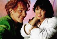 DROP DEAD FRED, from left: Rik Mayall, Phoebe Cates, 1991, © New Line